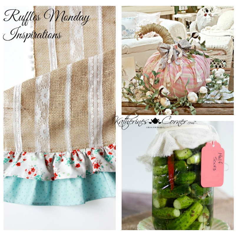 Ruffles Monday Inspirations