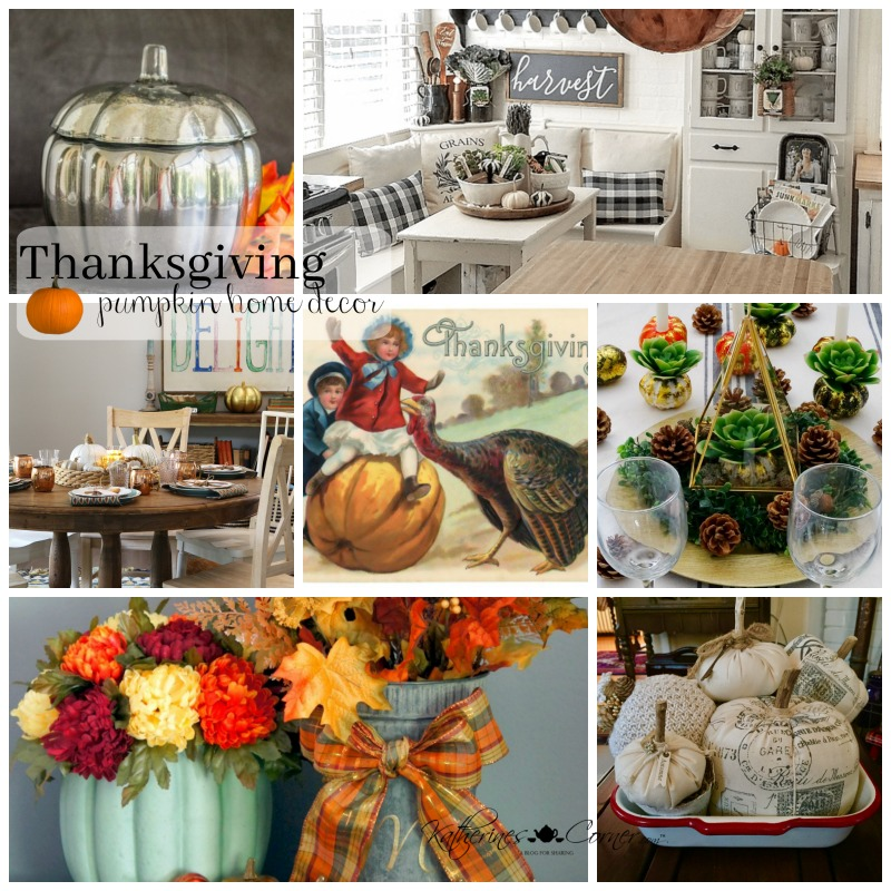 Thanksgiving Pumpkin Decor