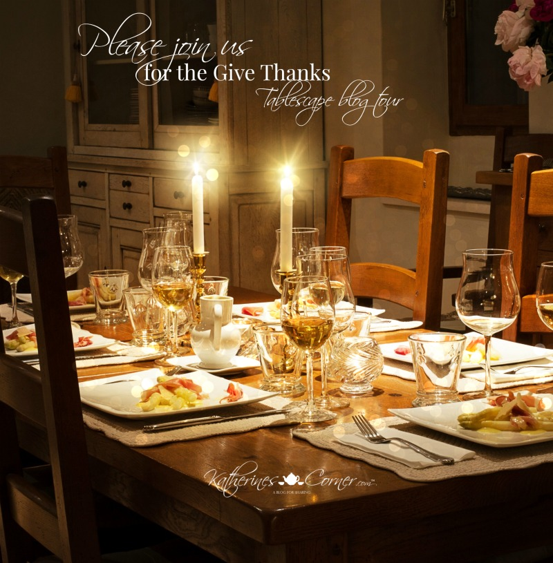 Give Thanks Tablescape Blog Tour 11-22