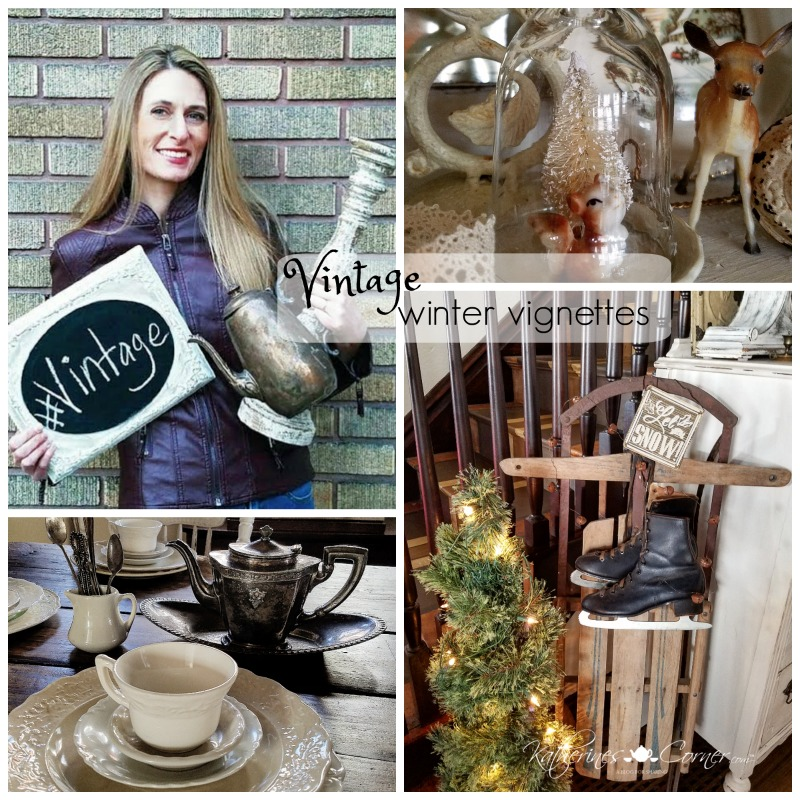 Vintage Winter Vignettes