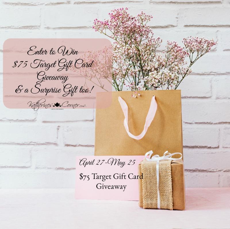 75 Dollar Target Gift Card Giveaway