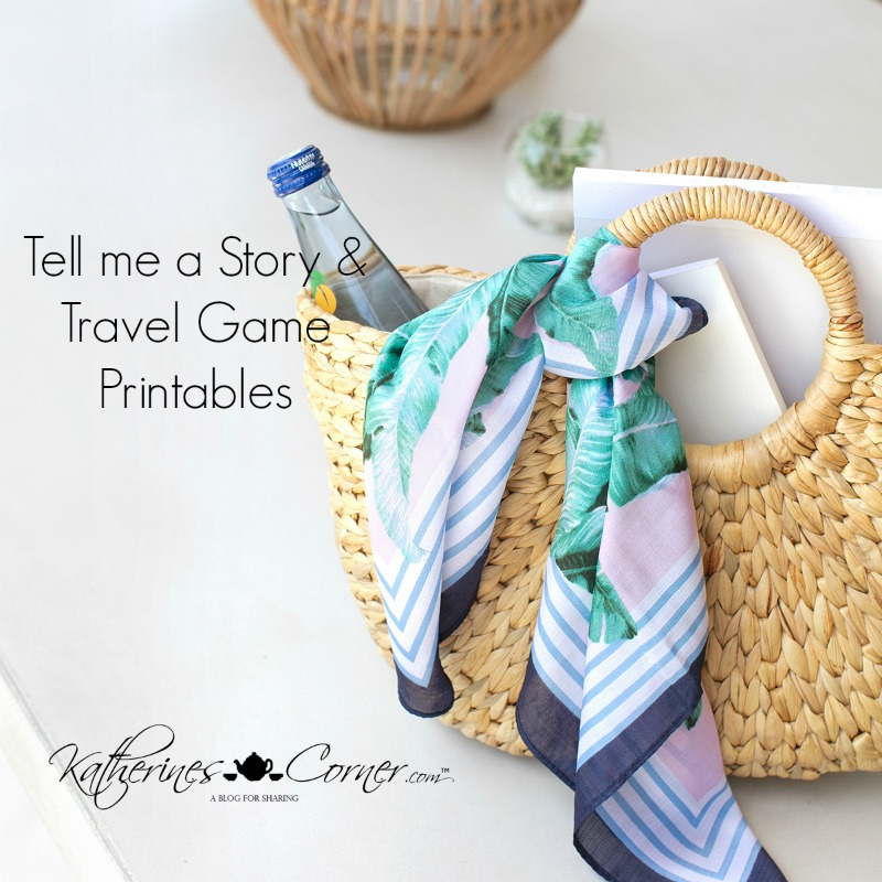 Tell Me A Story and Travel Game Printable
