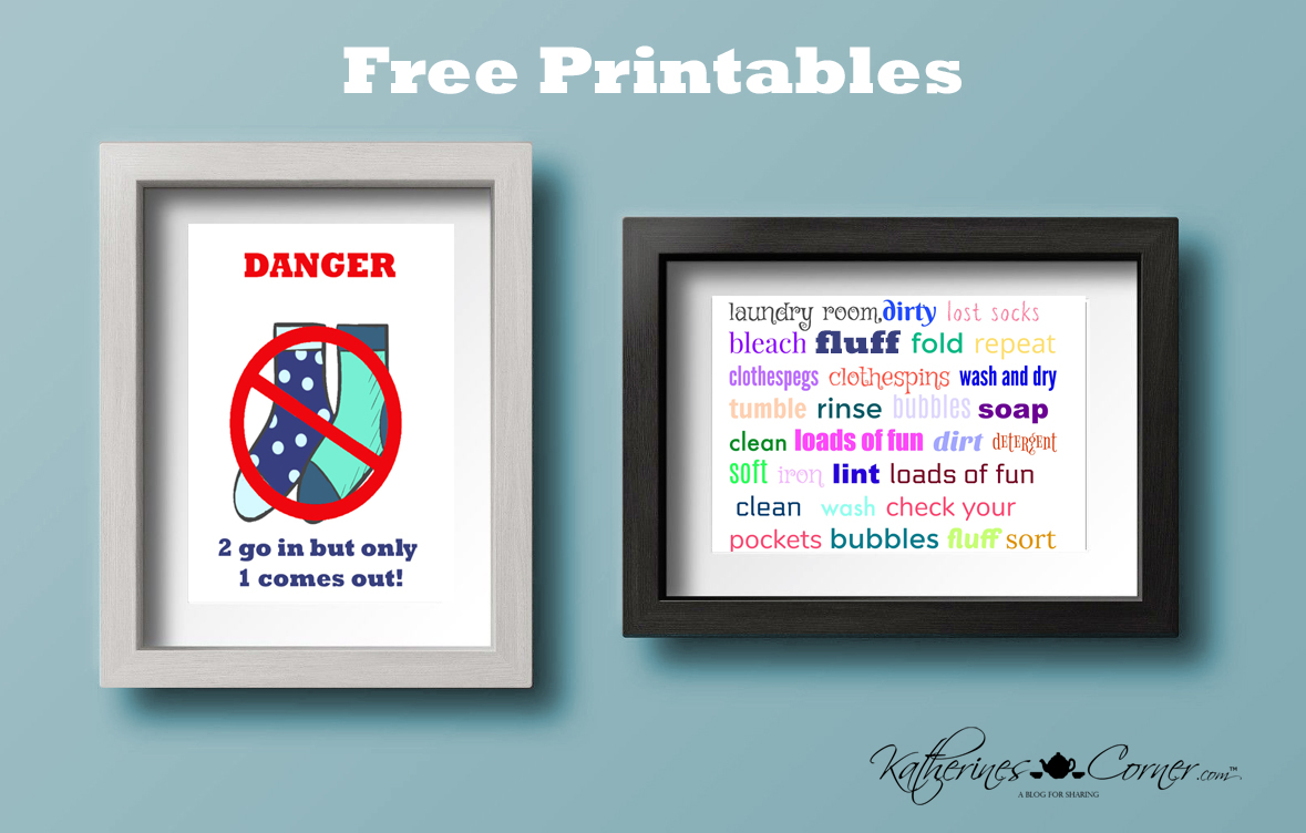 Laundry Day Printables