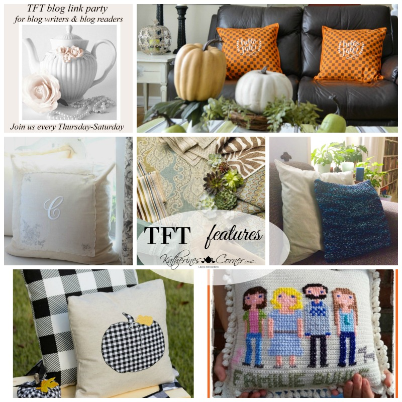 Pretty Pillows and TFT Party