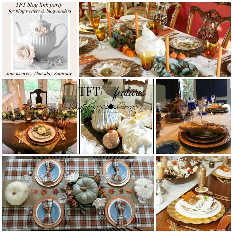 Thanksgiving Tables and TFT Party