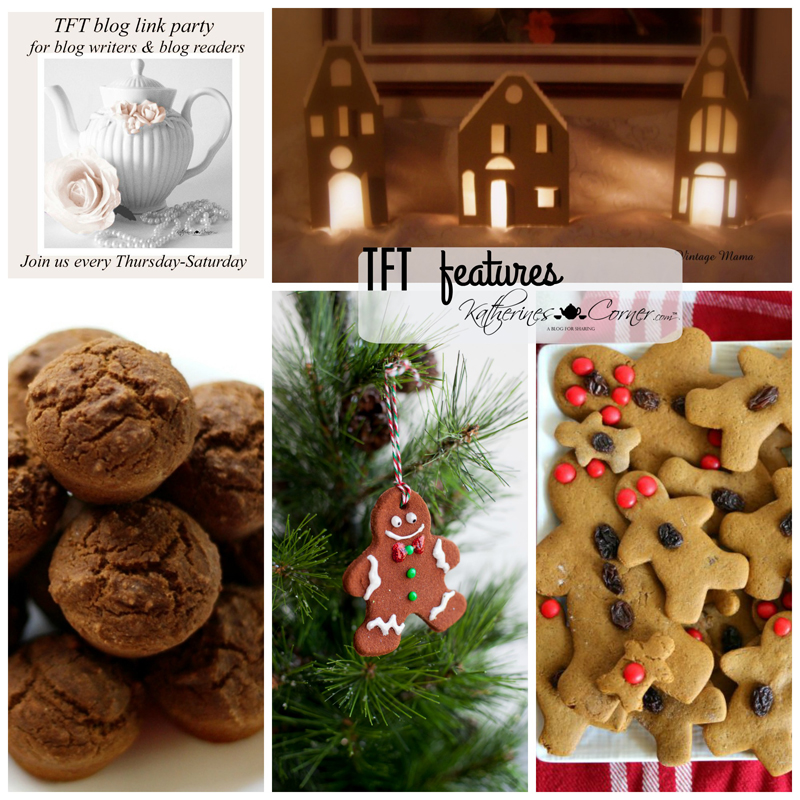 Gingerbread and TFT Blog Link Party