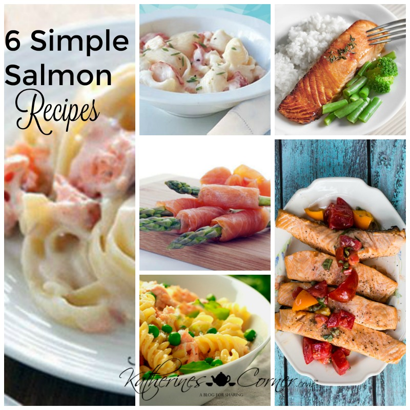 6 Simple Salmon Recipes