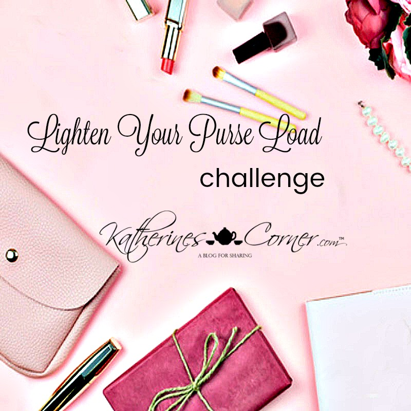 Lighten Your Purse Load Challenge