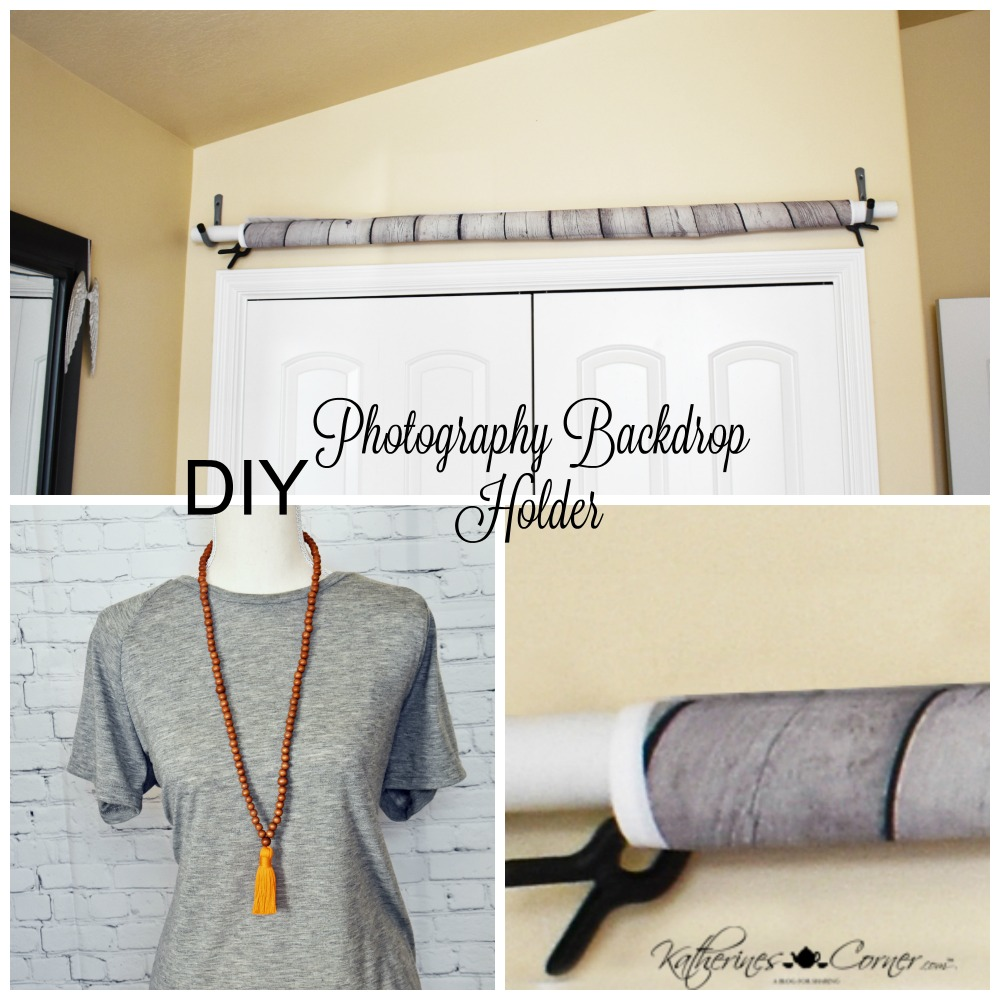 DIY Photography Backdrop Holder