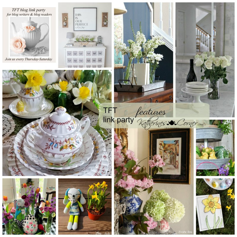 Spring flowers TFT Blog Link Party