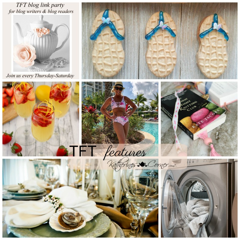 Beach Day and TFT Blog Hop Link Party