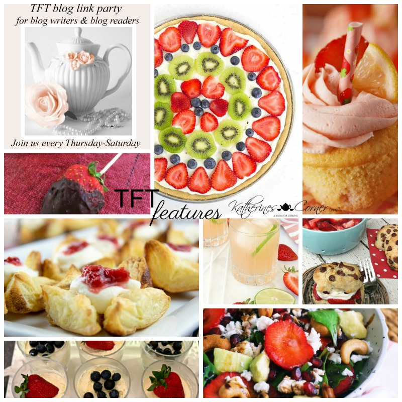 Strawberries and the TFT Party