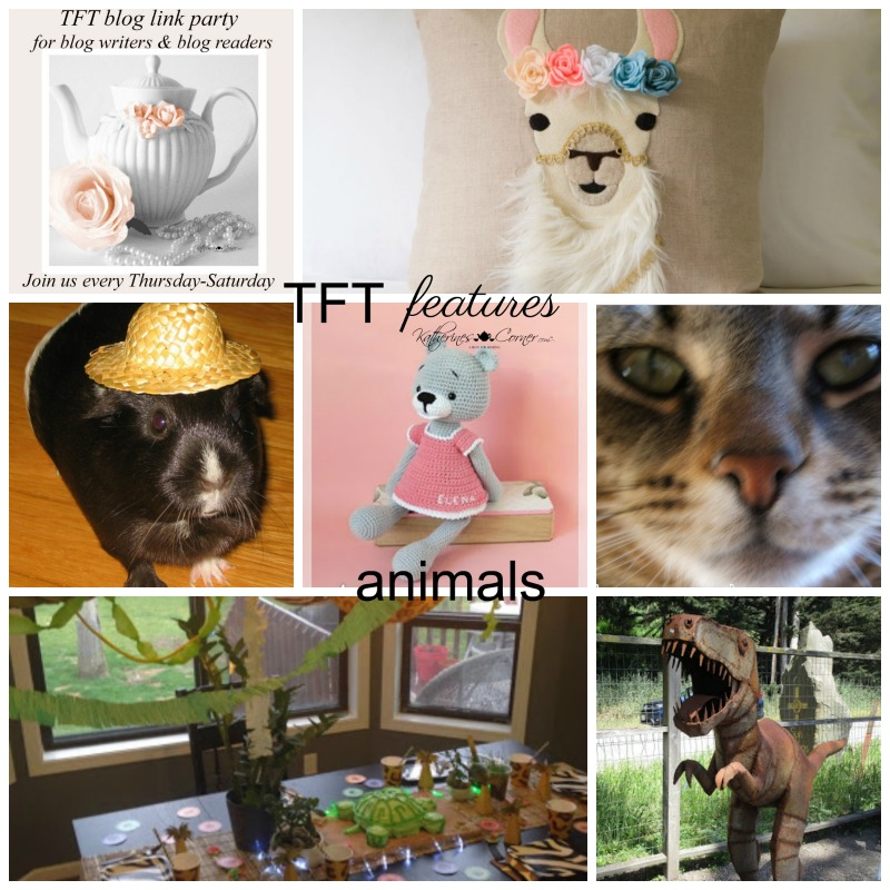 Animals and TFT Blog Hop Link Party