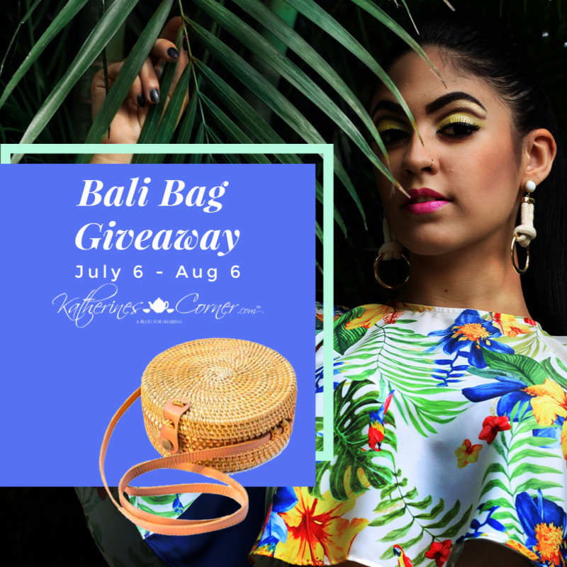 Hello Summer Bali Bag Giveaway