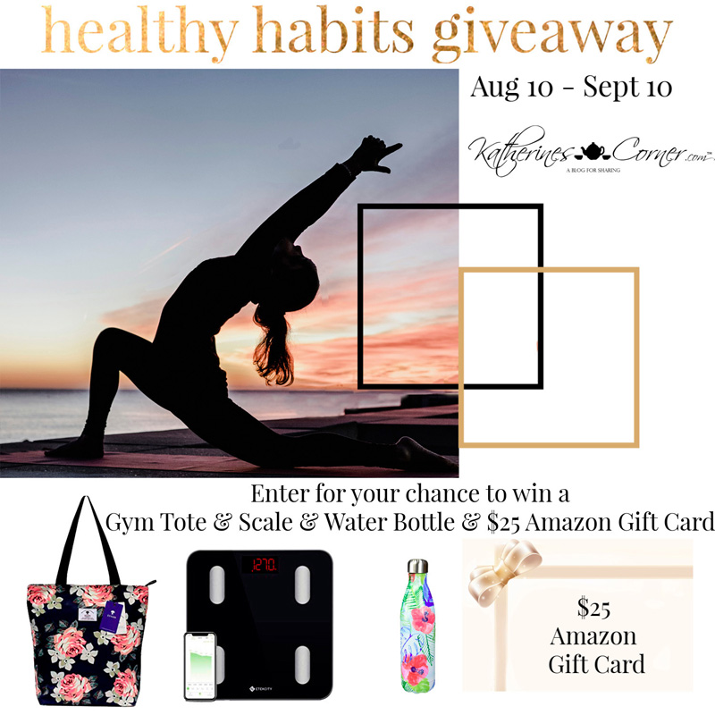 Keeping You Healthy with a Healthy Habits Giveaway