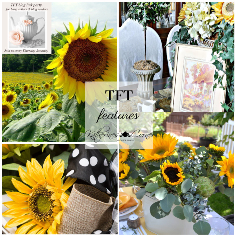 Sunflowers and the TFT Party