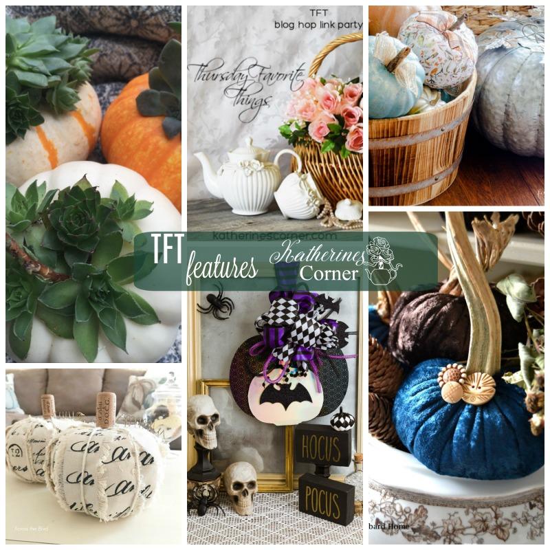 DIY Pumpkins and TFT Party