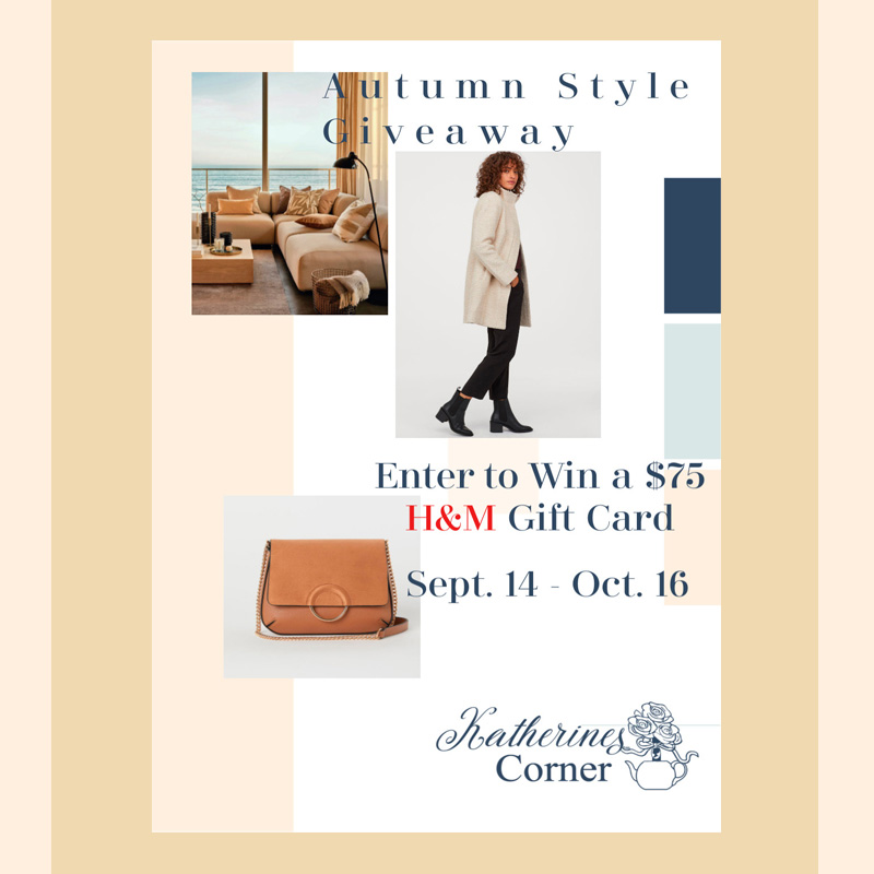 Autumn Style Giveaway and H&M