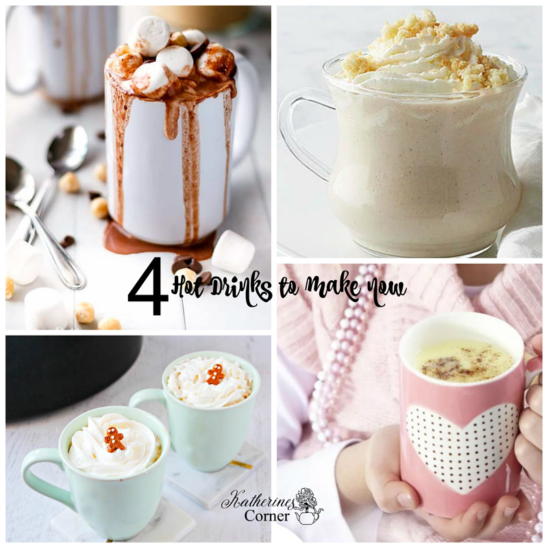 4 Hot Drinks to Make Now