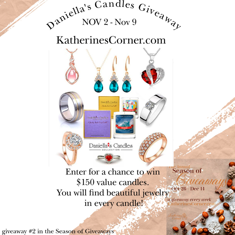 Daniella's Candles Giveaway