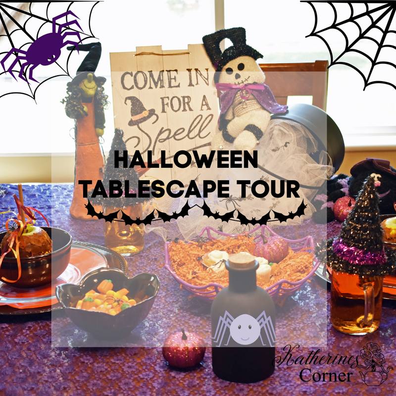 Spiderella a Bewitching Tablescape and Tour
