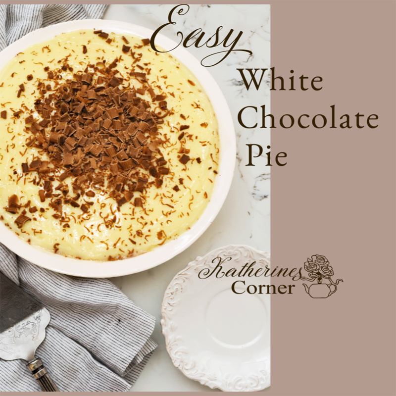 Easy White Chocolate Pie Recipe