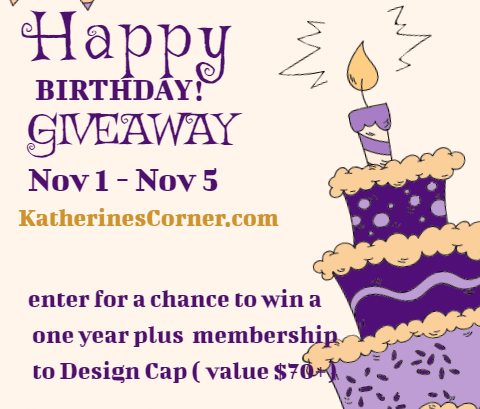 Happy Birthday Giveaway