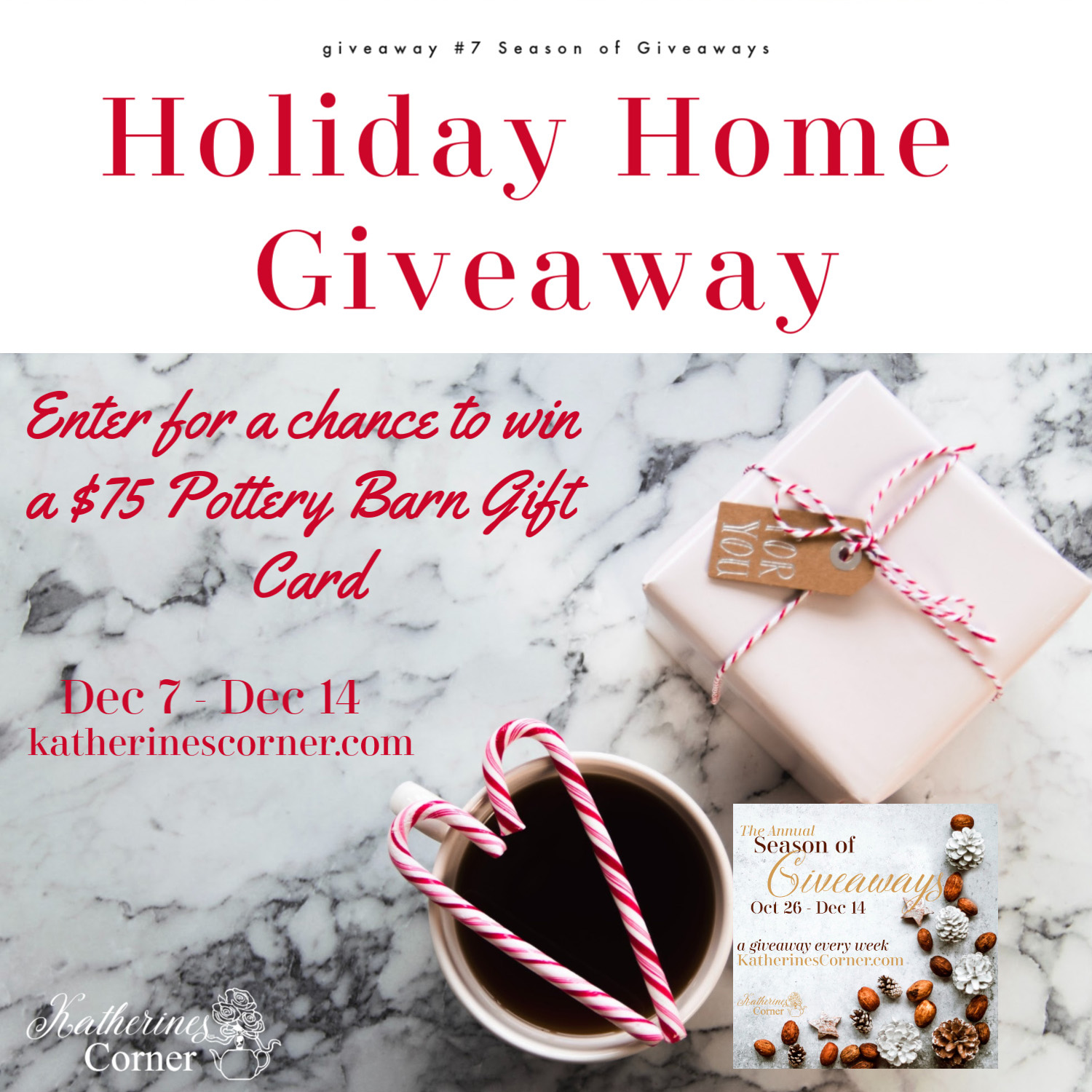 Holiday Home Giveaway