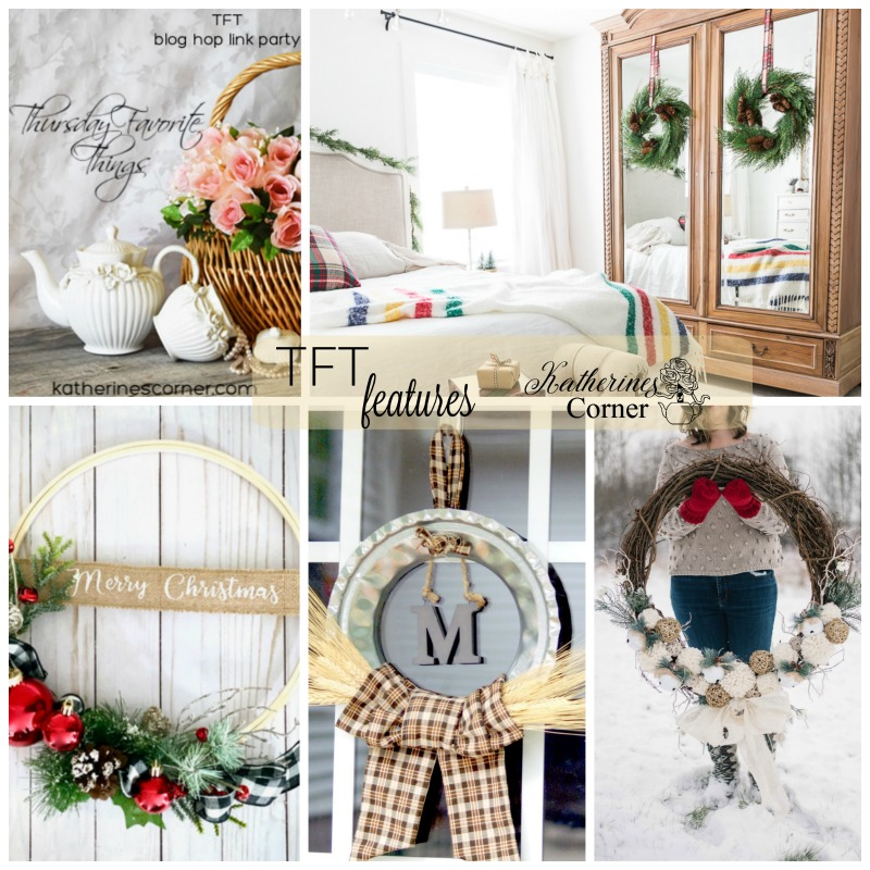 Holiday Wreaths and the TFT Party