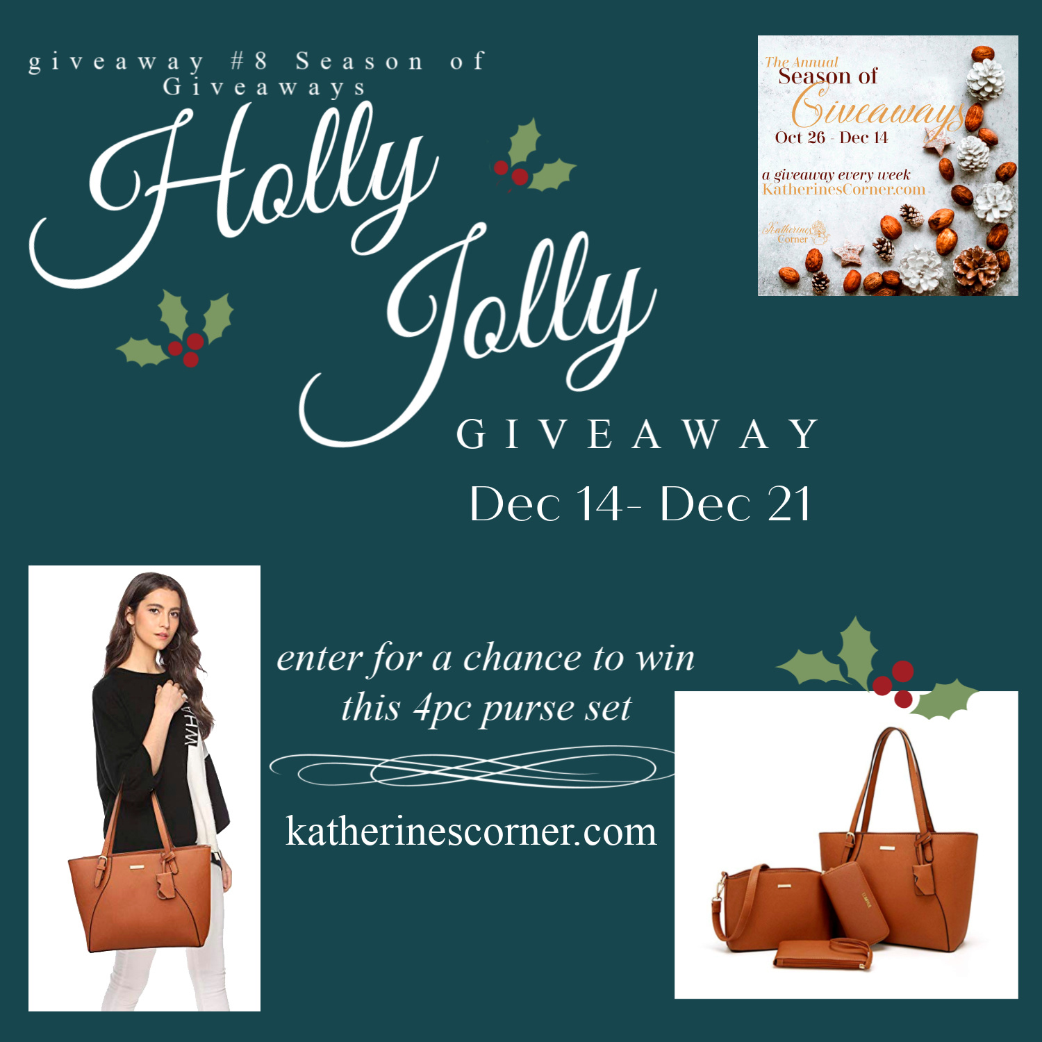 Season of Giveaways Holly Jolly Giveaway