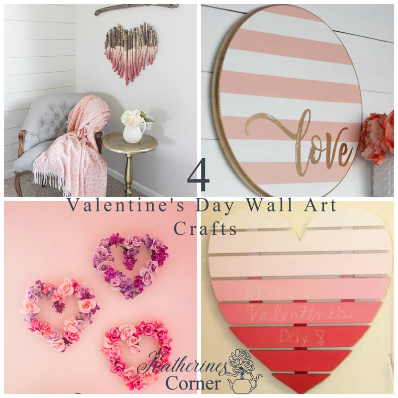 DIY Valentine's Day Wall Art