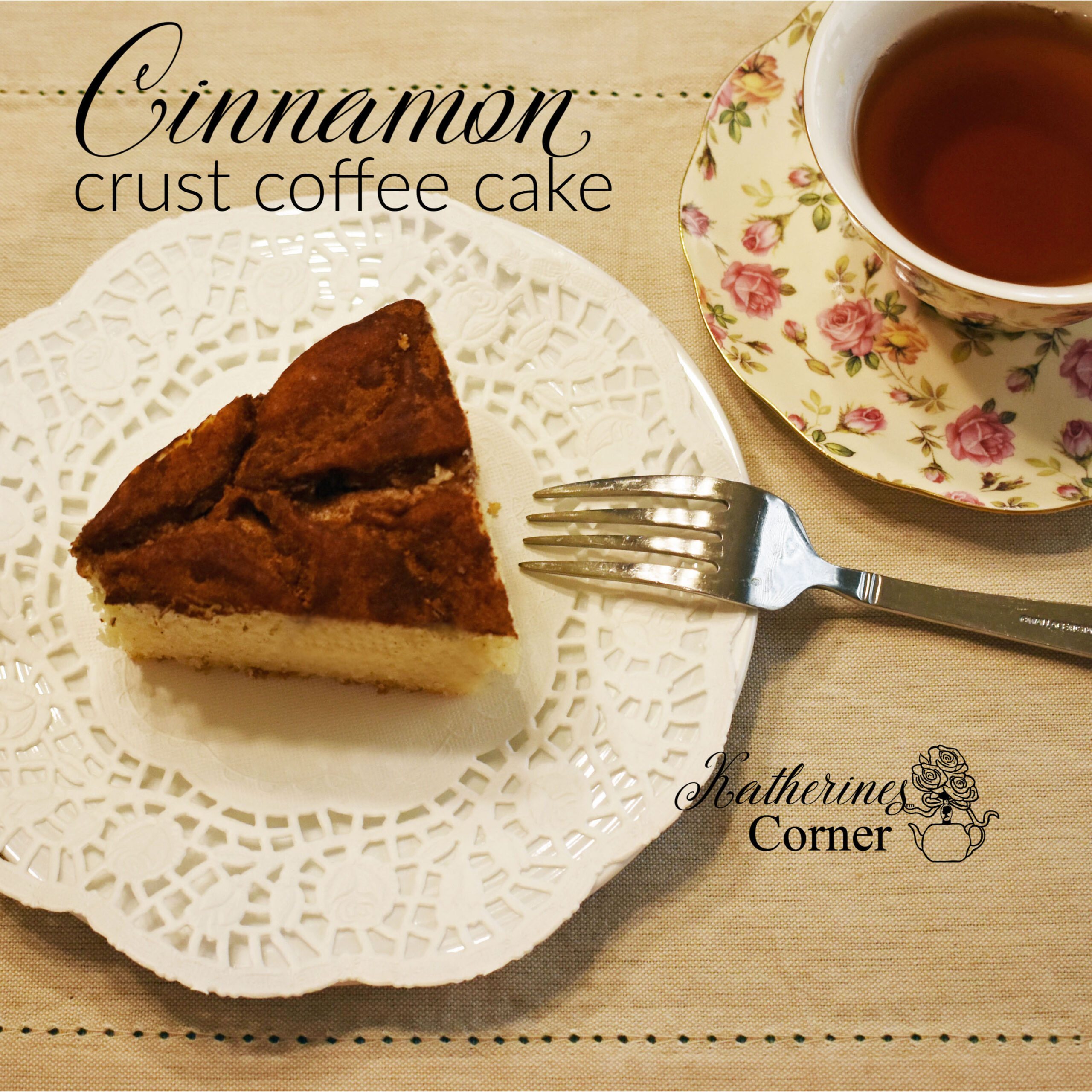 Cinnamon Crust Coffee Cake