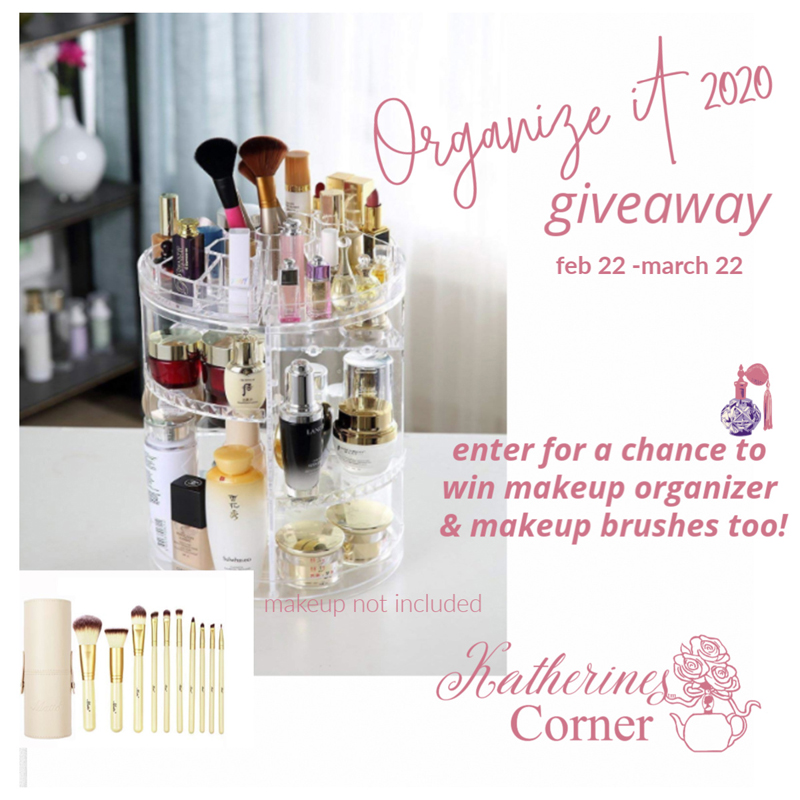 Organize It 2020 Giveaway
