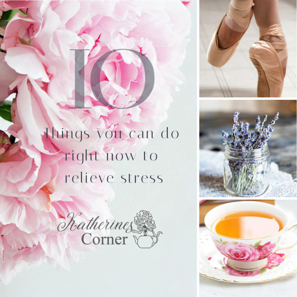 10 Things You Can Do Right Now to Relieve Stress
