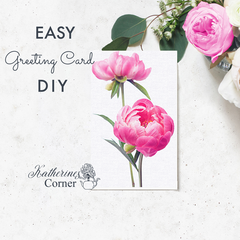 Easy DIY Greeting Card Using Word