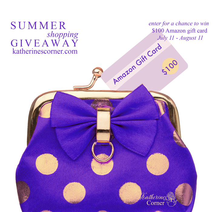 Summer Shopping Giveaway 2020