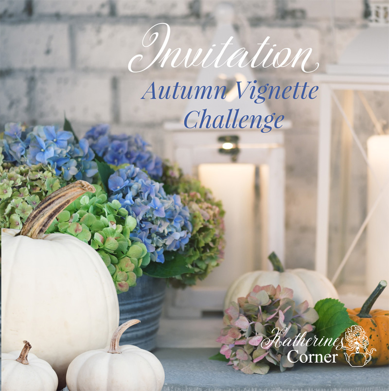 Autumn Home Vignette Challenge