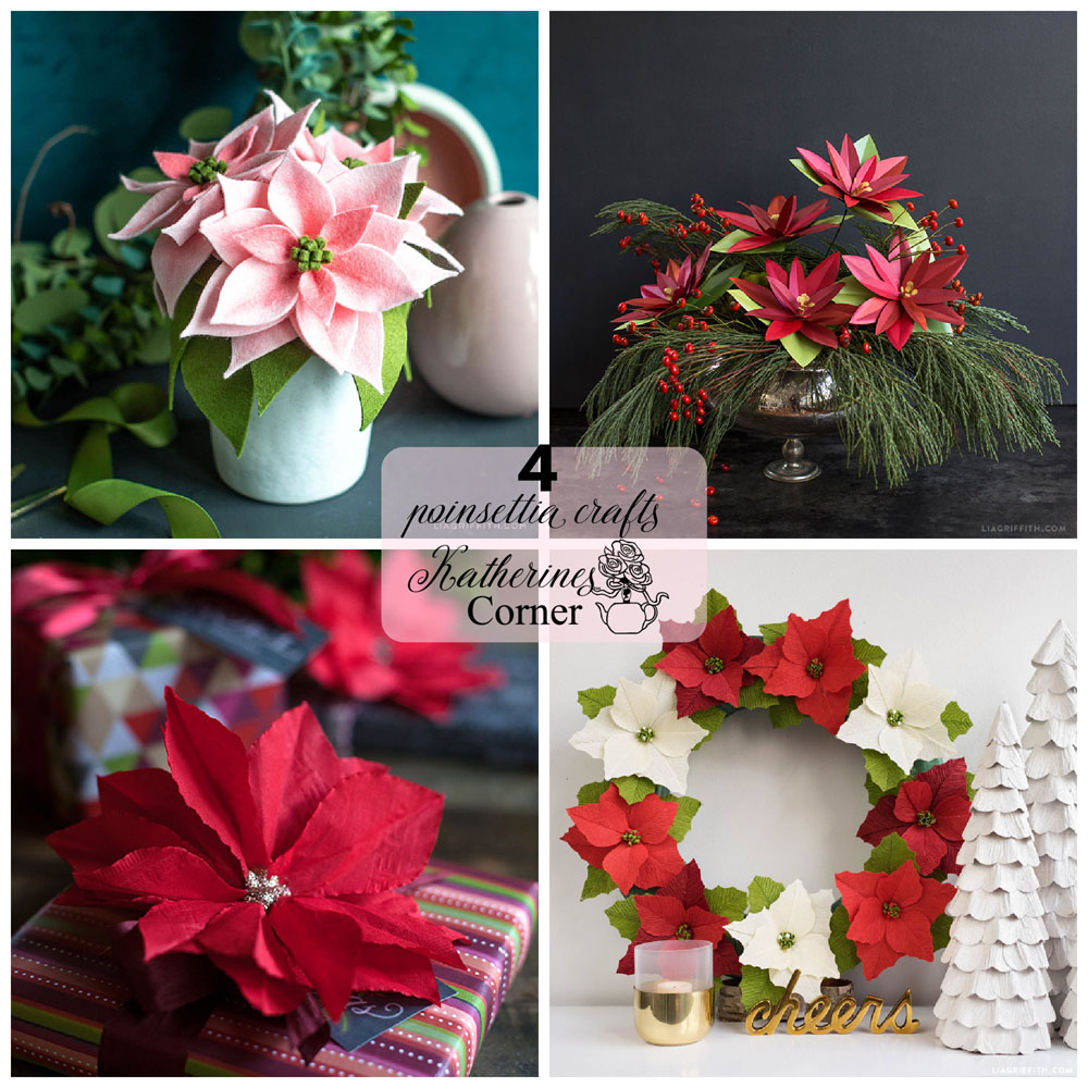 Poinsettia Crafts