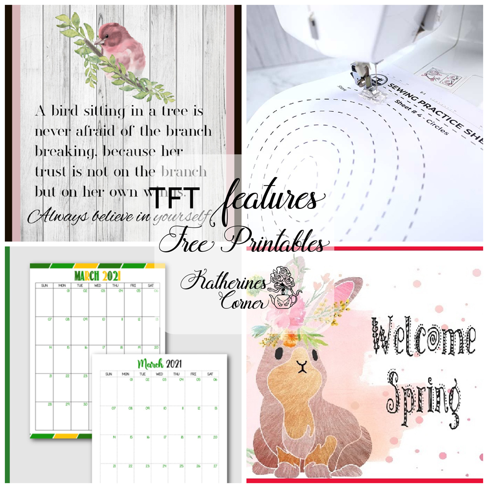 Free Printables and TFT