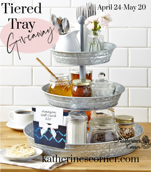 A Tiered Tray Giveaway