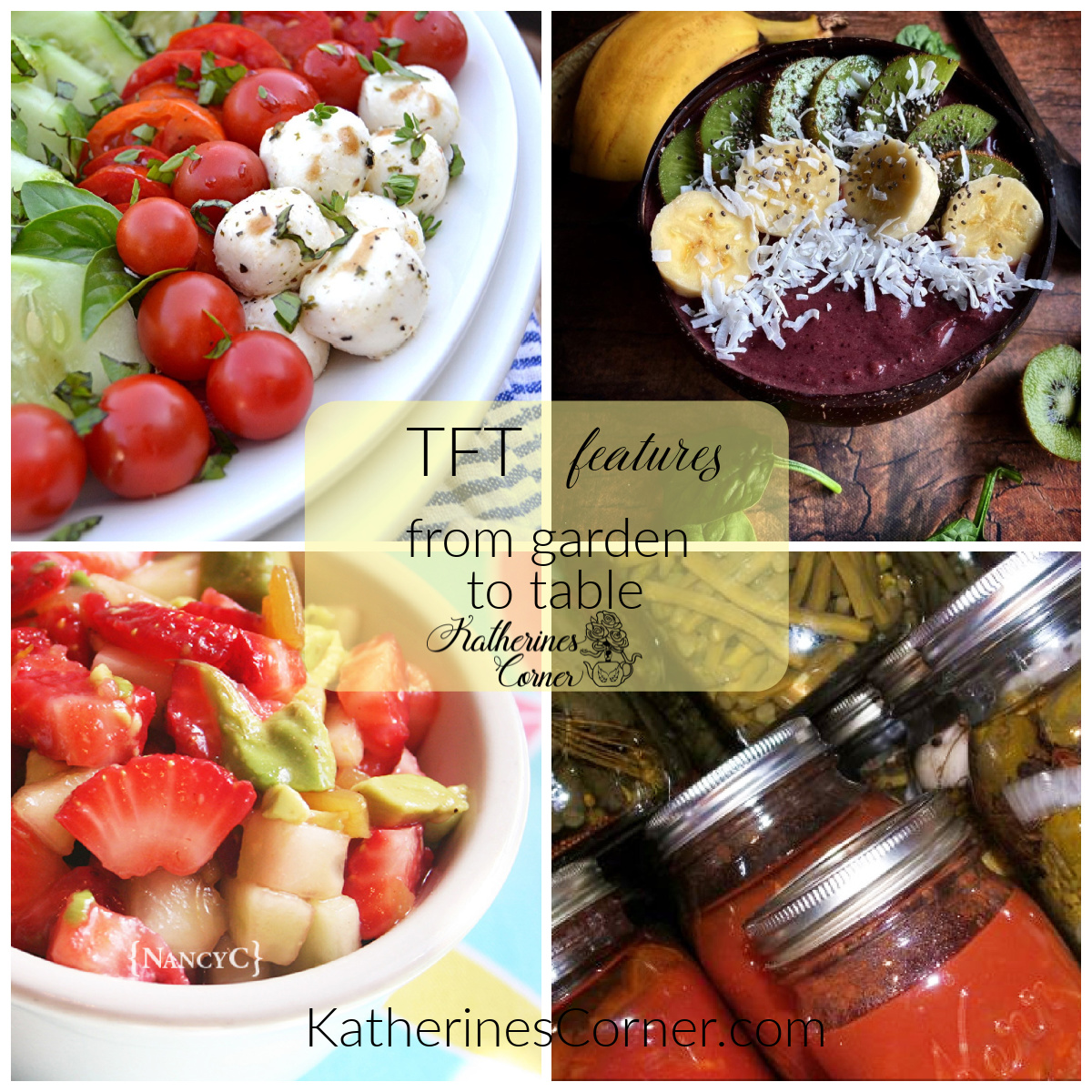 From Garden to Table and TFT Blog Hop