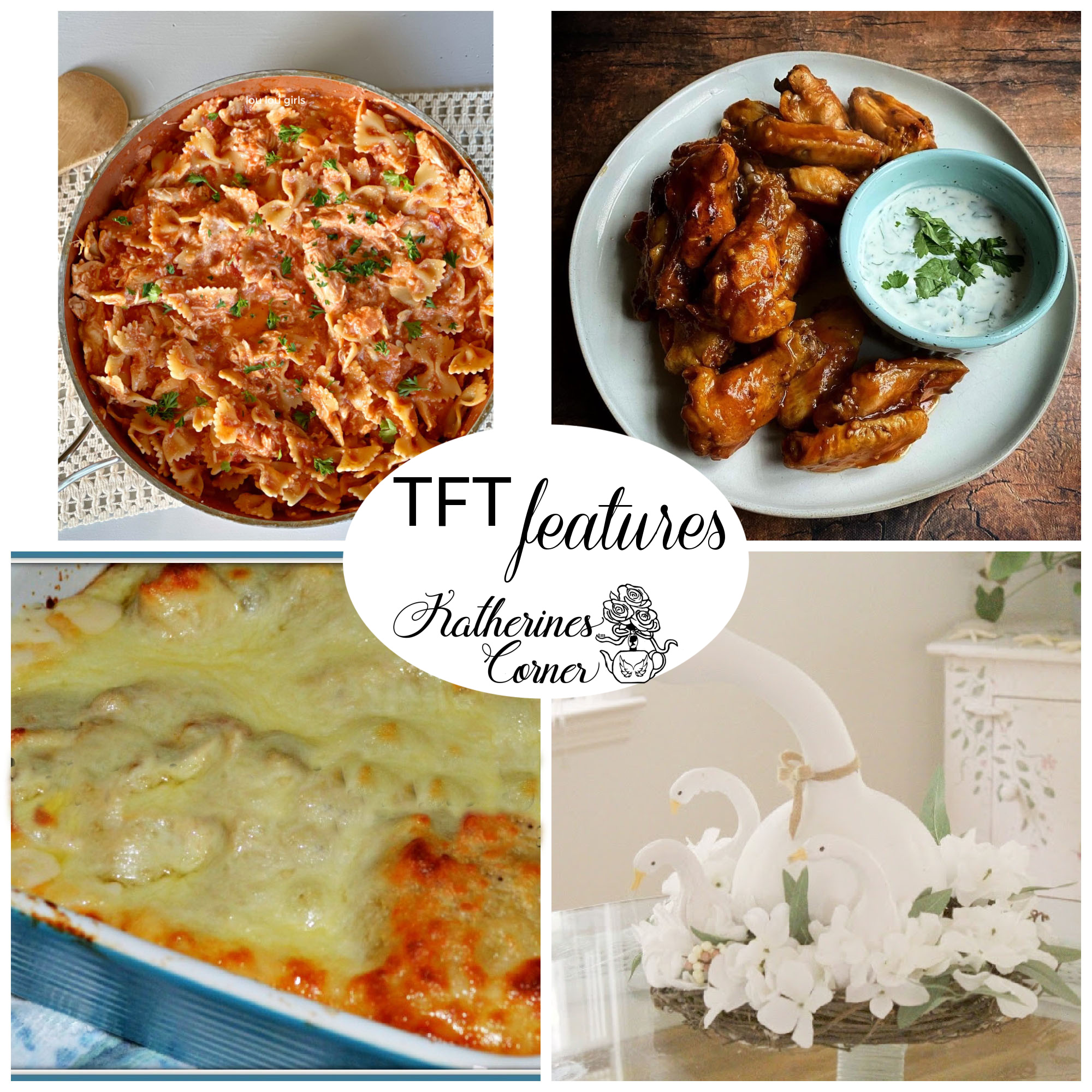 Did Someone Say Chicken and TFT Blog Hop
