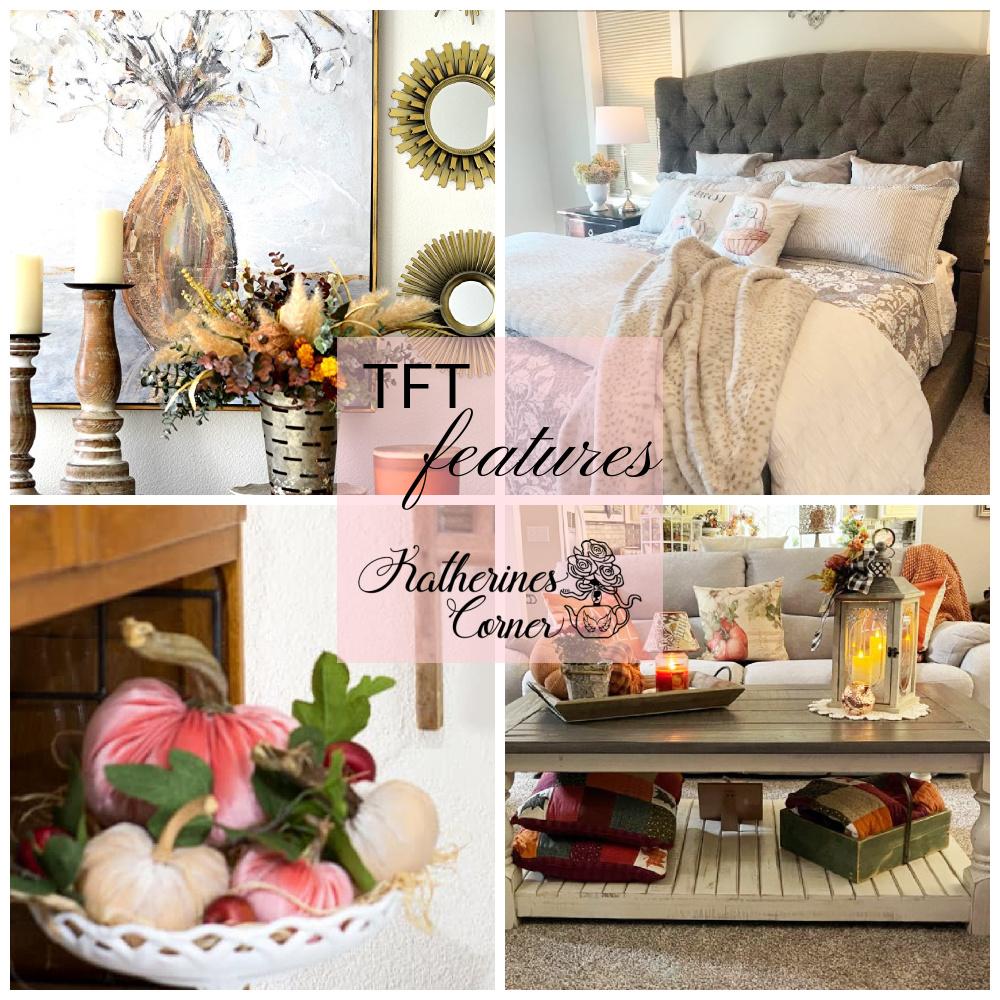 An Autumn Home Tour and TFT Blog Hop